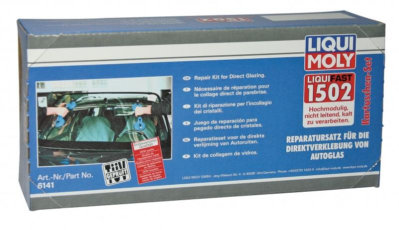 Набор для вклейки лобовых, боковых и задних автомобильных стекол в кузовные проемы.