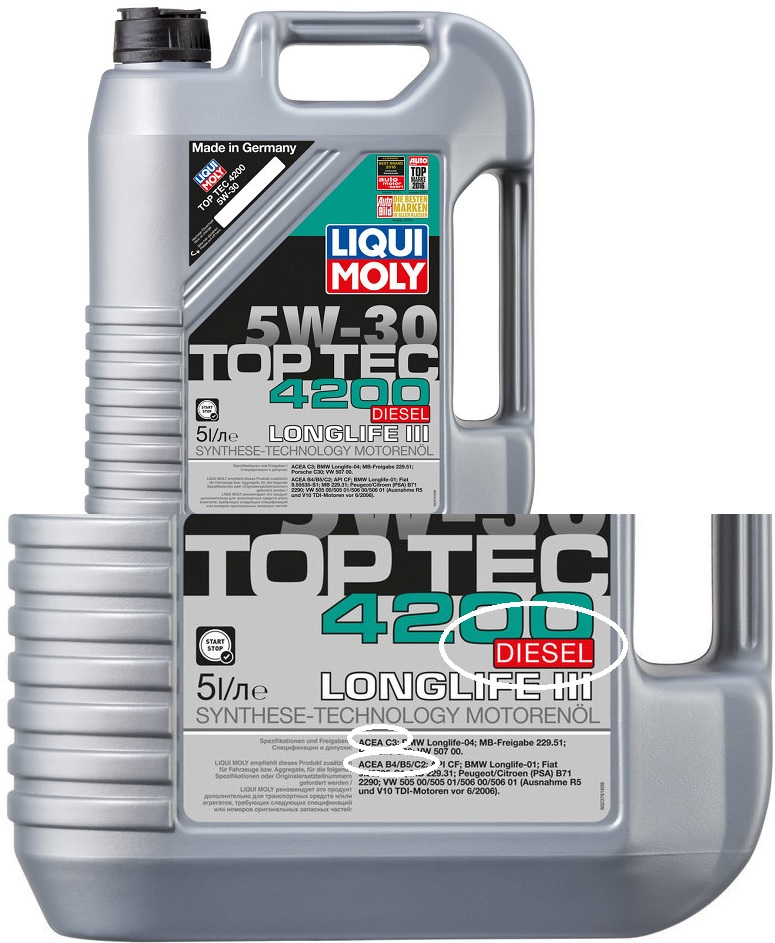 Top Tec 4200 Diesel liqui moly