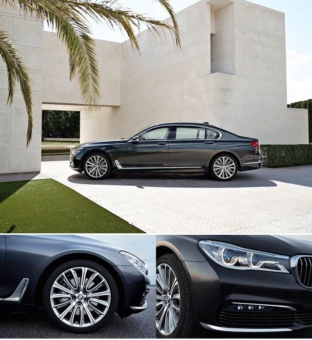 Экстерьер новой баварской машины 2015 BMW 7 серии