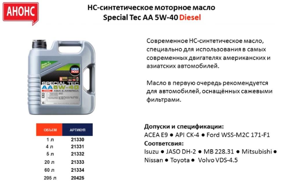 Liqui Moly AA Diesel 10w30