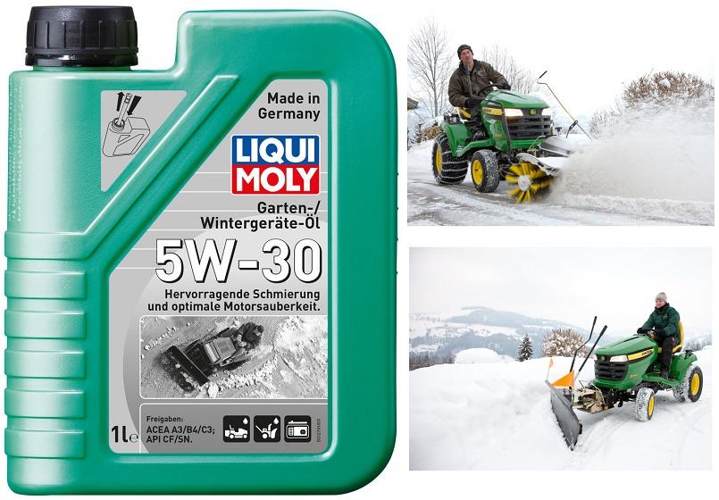 Для зимней садовой технике