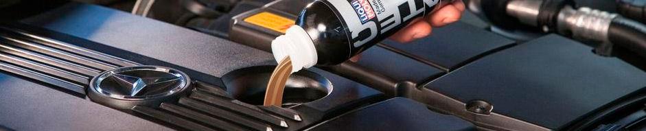 Присадка CeraTec в моторное масло в действии