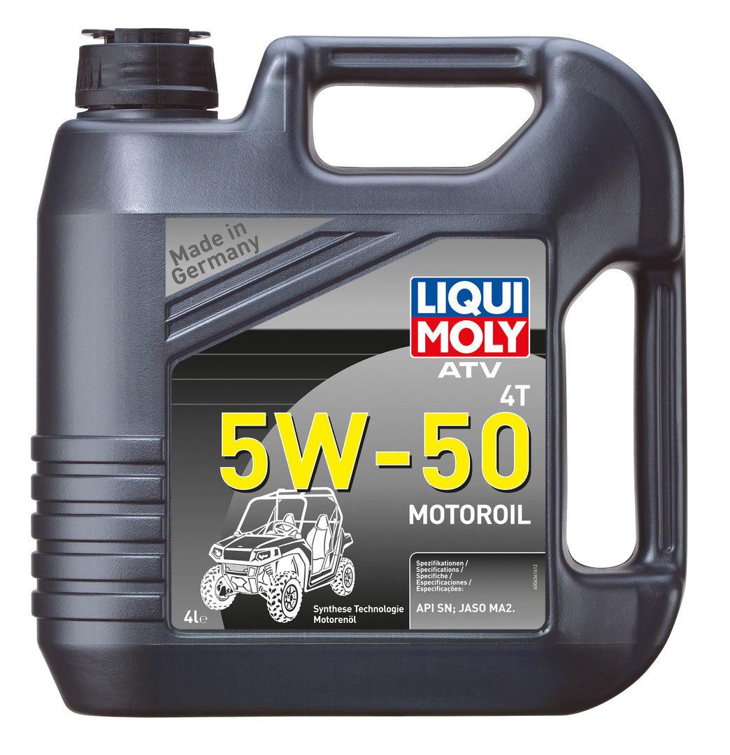 ATV 4T Motoroil 5w50 для квадрика