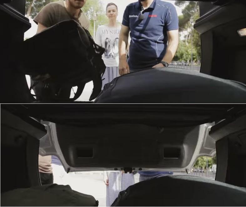 Объем багажника ситроена