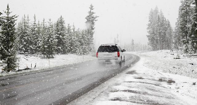 Автомобиль в зиму