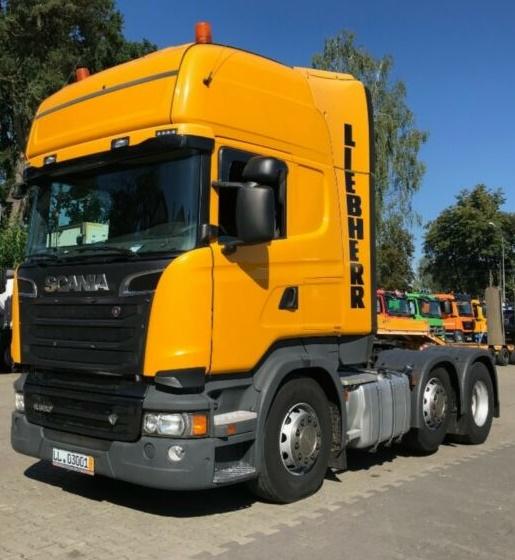 грузовик Скания