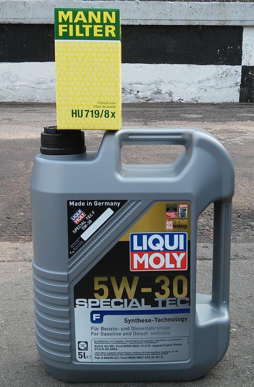 Моторное масло для Форд и фильтр Mann