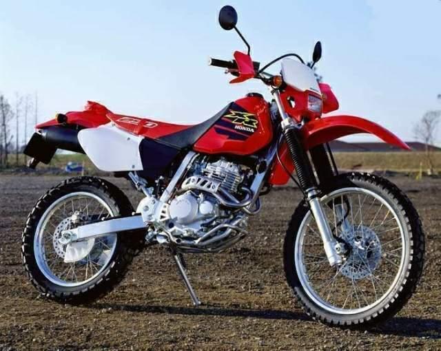 Honda XR 250 мотоцикл для мототуристов