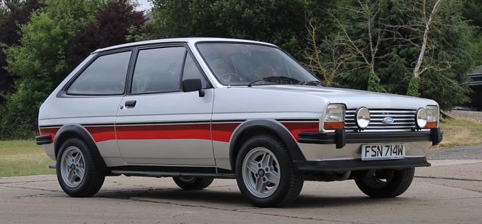 Форд Фиеста 1977 год