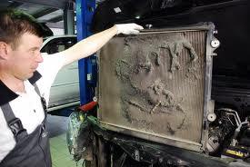 Проверьте радиатор авто
