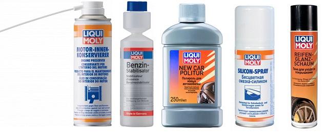 Препараты для консервации мото от LIqui Moly
