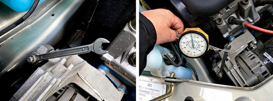 Порядок замены автомобильного ремня генератора