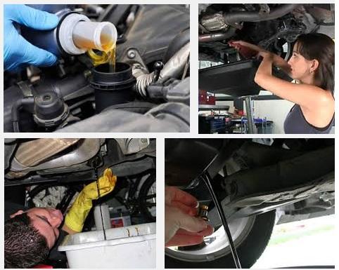 Быстро и легко меняем масло в двигателе авто
