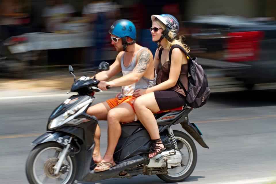 На скутере абсолютно безопасно с liqui moly