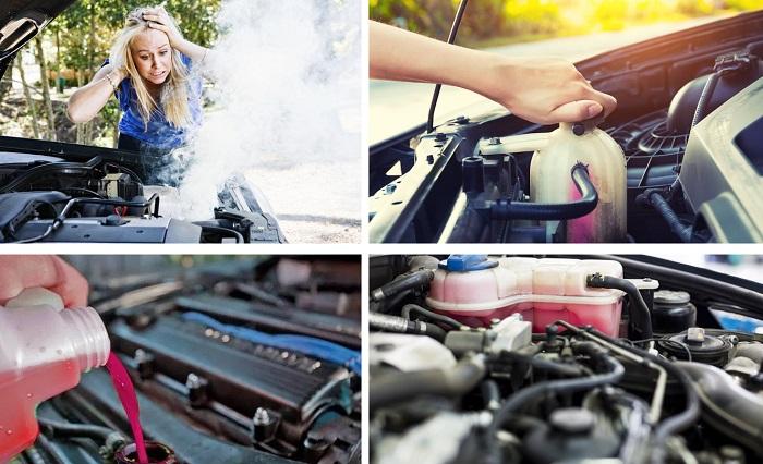 Дым из под капота автомобиля что делать