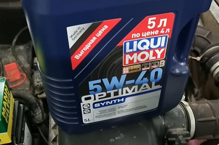 Масло Liqui Moly Optimal 5w40 с присадки от износа для Лады