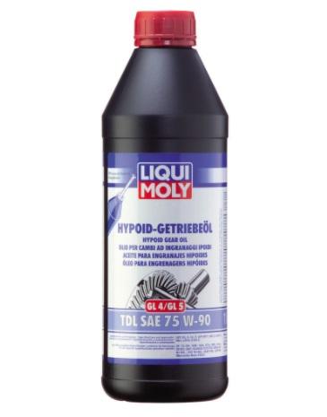 Liqui Moly Hypoid Getriebeoil TDL (GL 4/GL 5) 75W 90 Полусинтетическое масло для замены в коробке НИВЫ