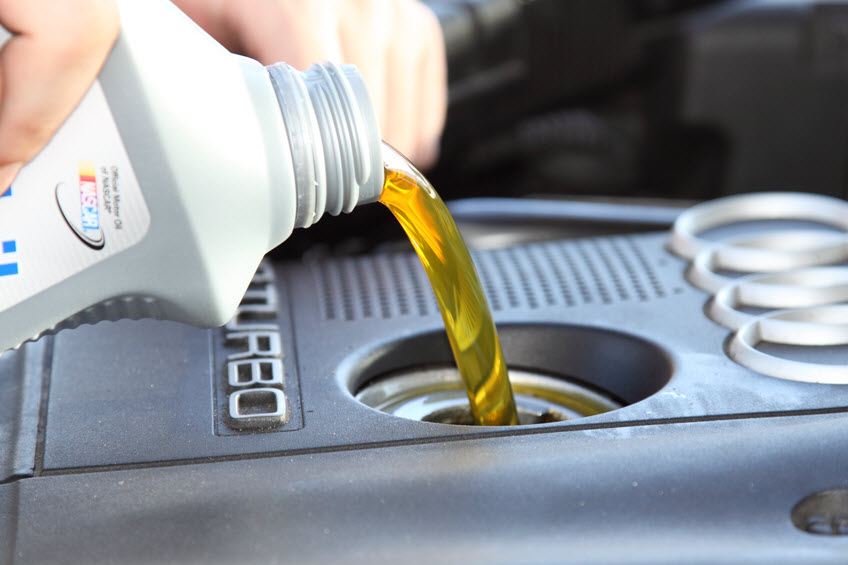 Смена моторного масла