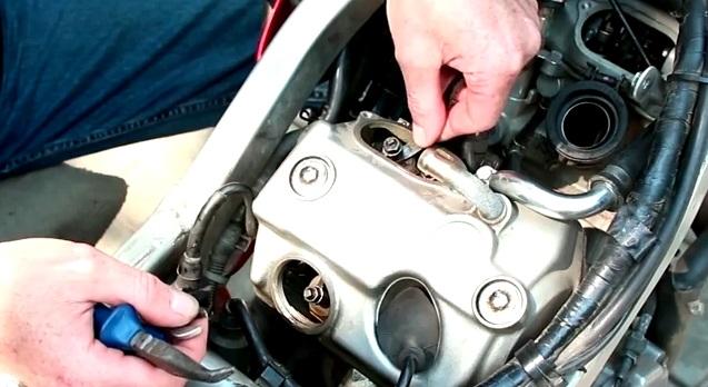 Регулировка клапанов на мотоцикле
