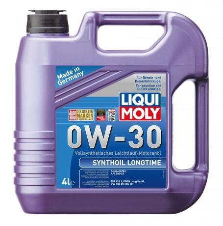Liqui Moly Synthoil Longtime 0W-30 синтетика для дизеля