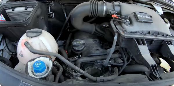 Двигатель Спринтера с пробегом