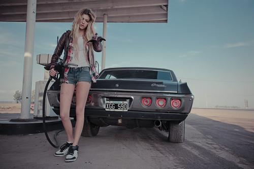 Заправь автомобиль бензином