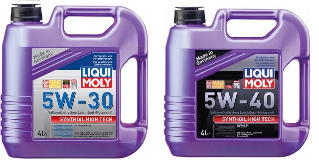 Синтетические моторные масла Liqui Moly