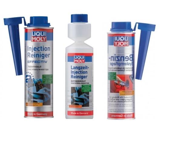 Присадки Liqui Moly для очистки инжектора от шлама