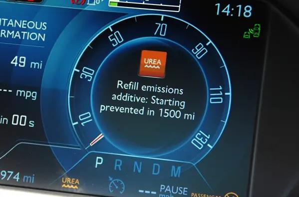 Мочевина дизельного двигателя