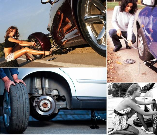 Необходимая замена колеса