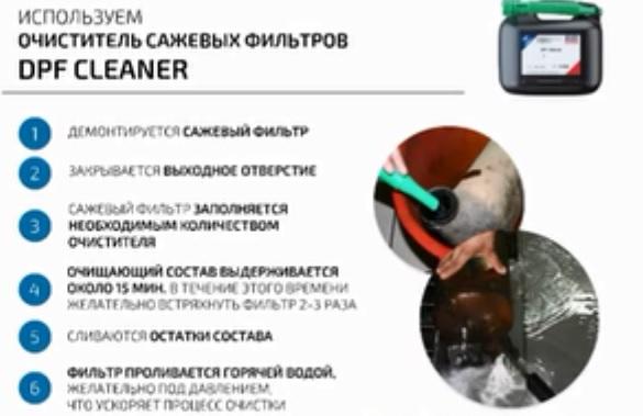 Инструкция по демонтажу сажевого фильтра