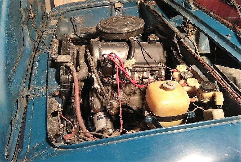 Двигатель карбюраторный от ВАЗ