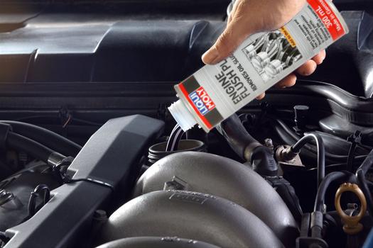 Engine Flush — Пятиминутная промывка двигателя