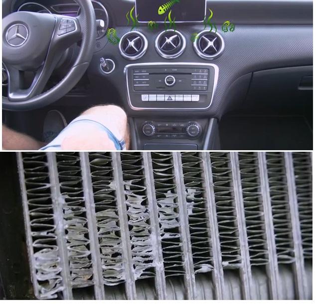 Отвратный запах в салоне машины