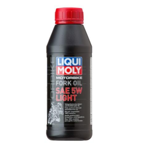 Liqui Moly Motorbike Fork Oil Light 5W Синтетическое масло для вилок и амортизаторов мотоциклов