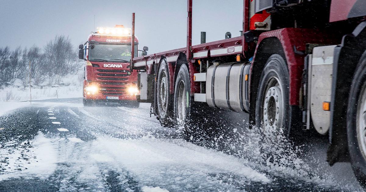 Испытания моторного масла на грузовиках Scania