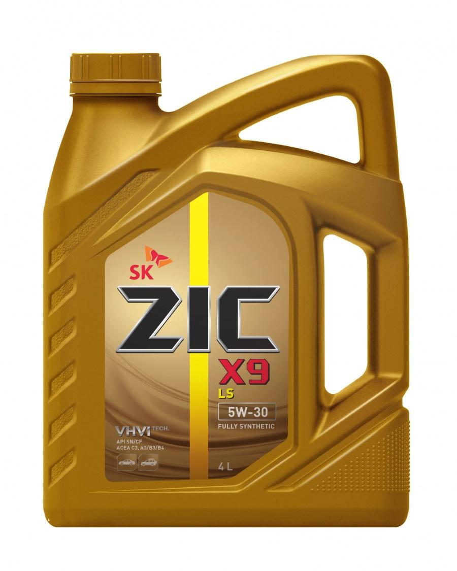ZIC X9 LS 5W30 Синтетическое моторное масло (4л)