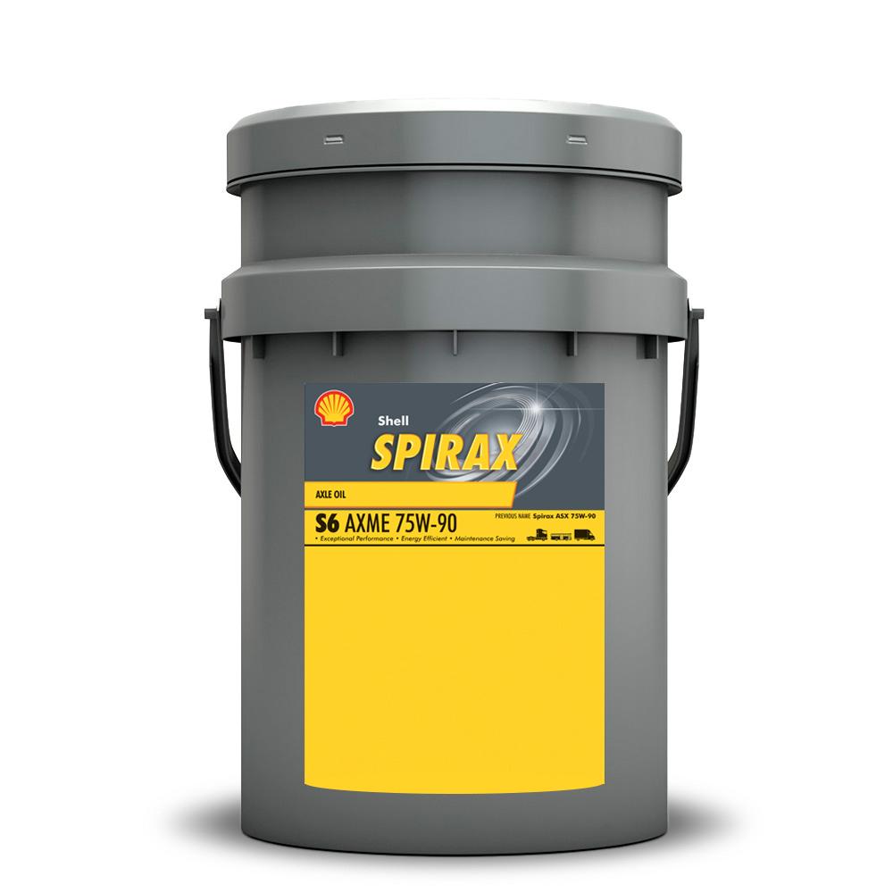 Shell Spirax S6 AXME 75W90 Трансмиссионное масло