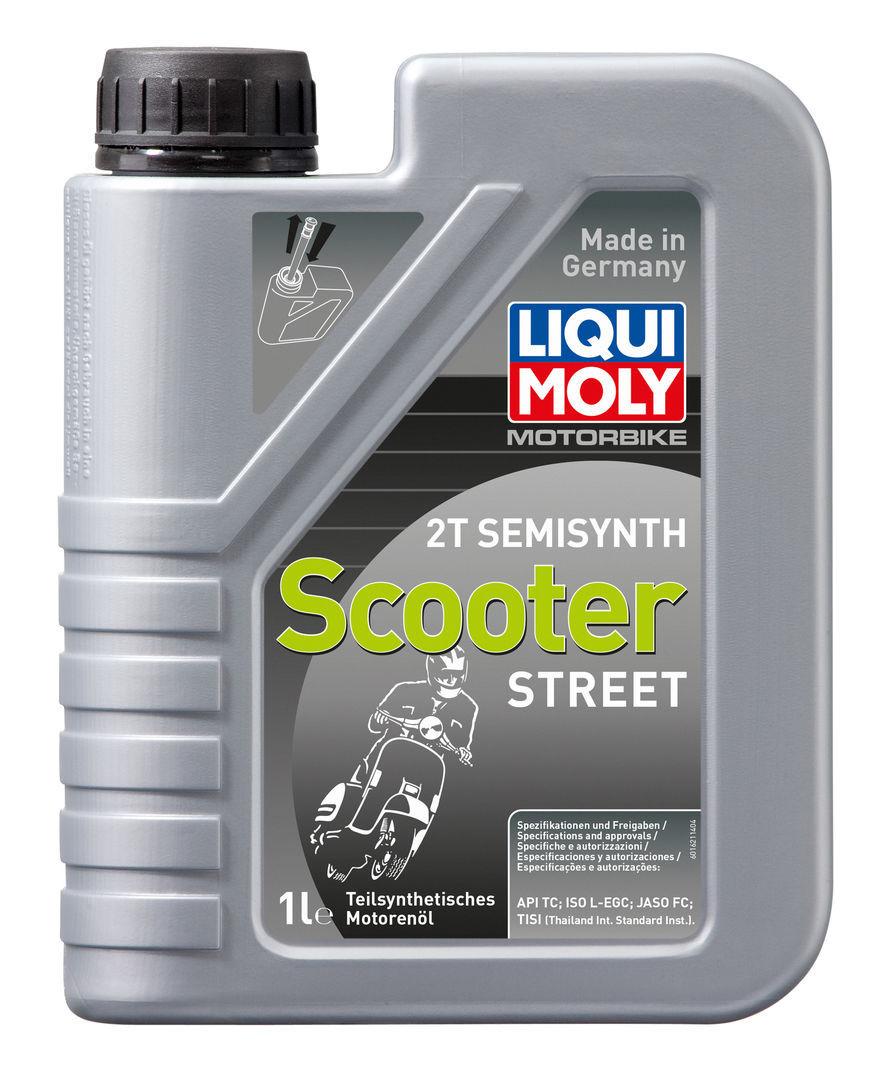 Liqui Moly Motorbike 2T Semisynth Scooter  Полусинтетическое моторное масло для скутеров