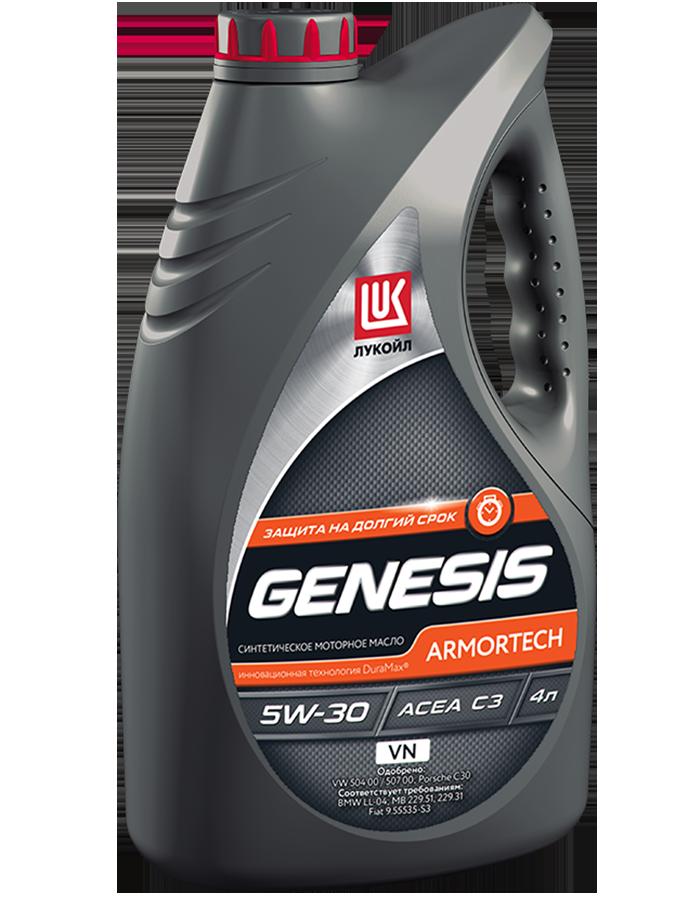 Лукойл Genesis Armortech VN 5W30 Синтетическое моторное масло