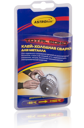 Астрохим АС-9311 Total Bond - Клей-холодная сварка для металла (55мг)