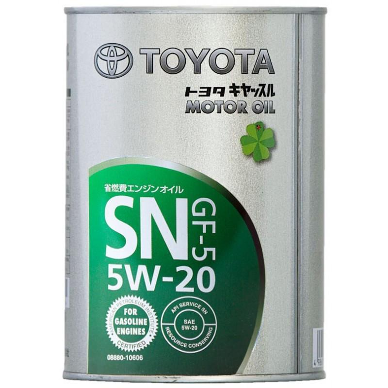Toyota motor oil 5W20 SN/GF-5 Синтетическое моторное масло