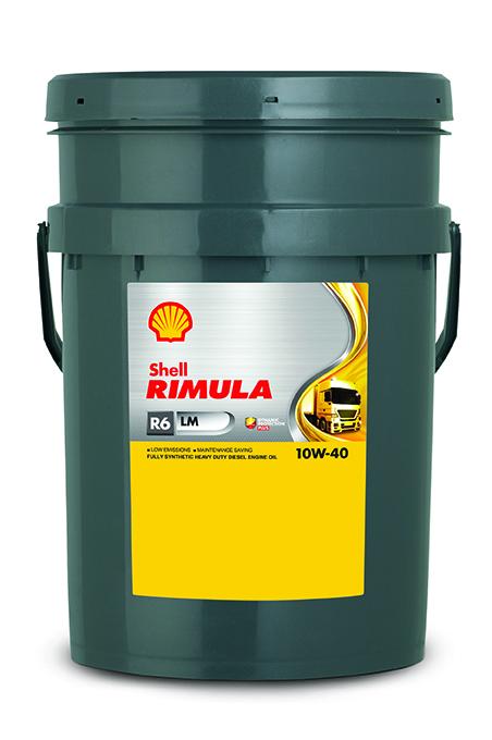 Shell Rimula R6 LM 10W40 Дизельное моторное масло
