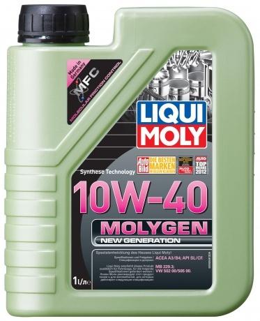 Liqui Moly Molygen New Generation 10W-40 НС-синтетическое моторное масло