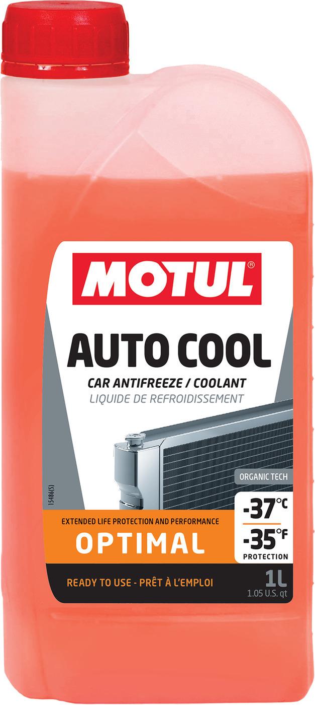 Motul Auto Cool Optimal (-37С) Антифриз готовый (оранжевый)