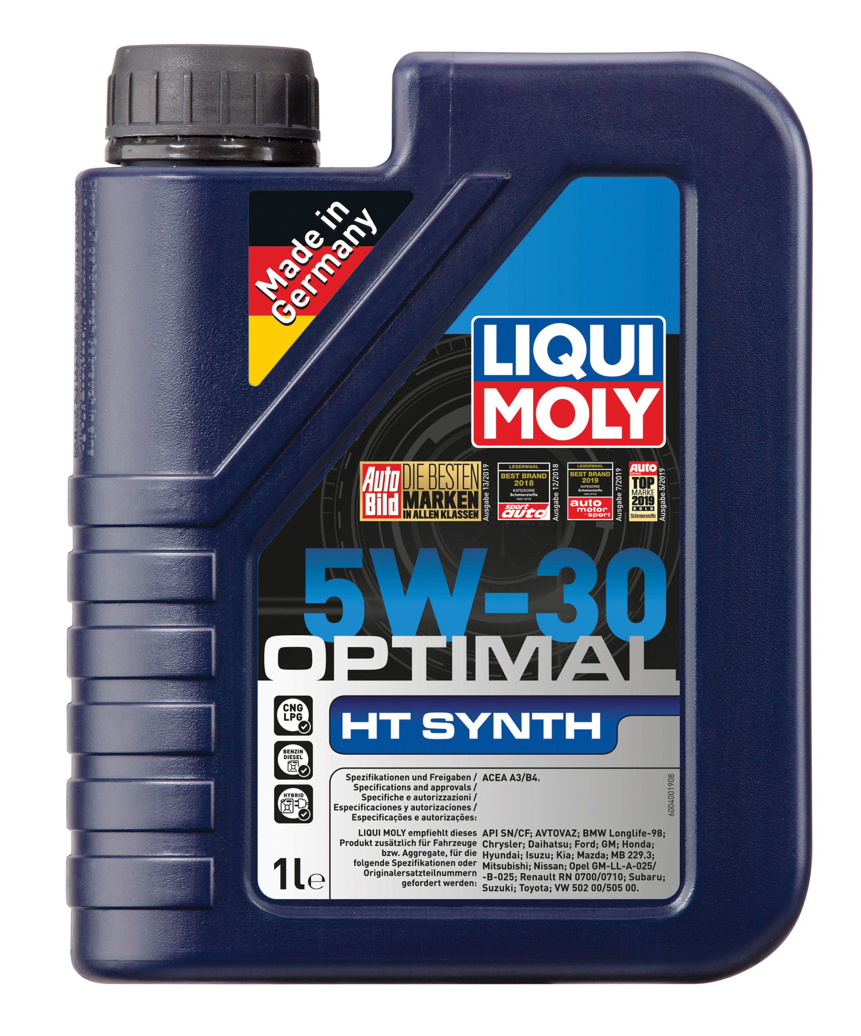 Liqui Moly Optimal HT Synth 5W-30 - НС-синтетическое моторное масло