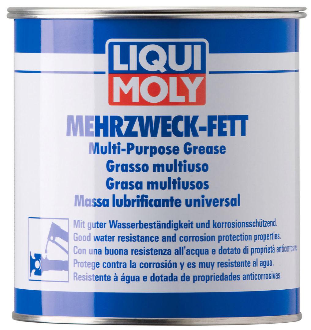 3553 Liqui Moly Mehrzweckfett Смазка для карданных крестовин и  подшипников (Желто-коричневая)