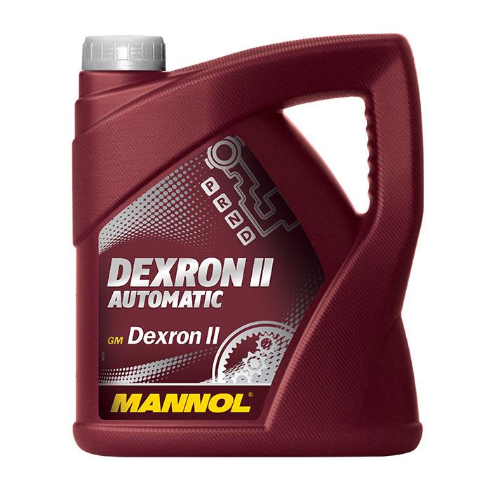 Mannol Dexron II Automatic  - Трансмиссионная жидкость для АКПП