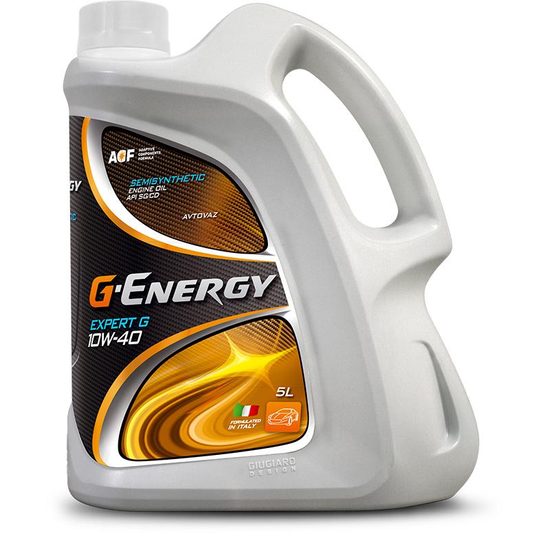 G-Energy Expert G 10W-40 - Полусинтетическое моторное масло (5л)
