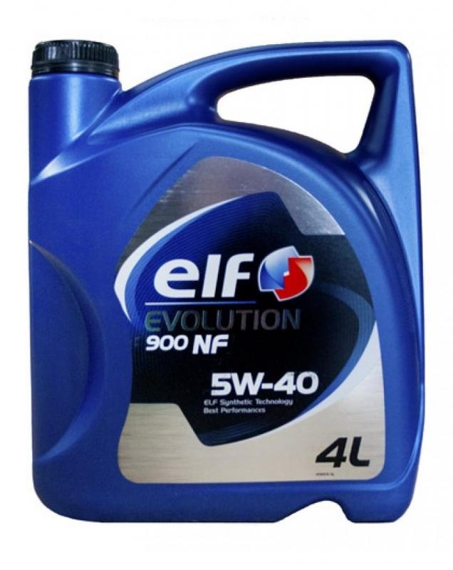 Elf Evolution 900 NF 5W-40 - Синтетическое моторное масло